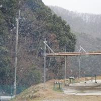 雪の降る日もRC飛行機・ばかだねぇ~