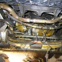 E60/530Iヒートエクスチェンジャーオイル漏れ