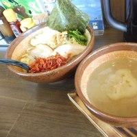 麺家奥村@東寺山(作草部) 濃厚なトロトロつけ麺に「えび辛」を入れる!