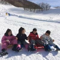 2017雪遊び&スキー行ってきたよ