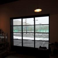 大雪の本日