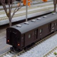 TOMIXのオハ61系客車