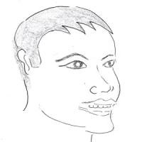 10月22日のチョコット似顔絵