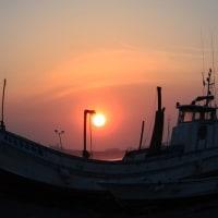『朝景』 船泊まり