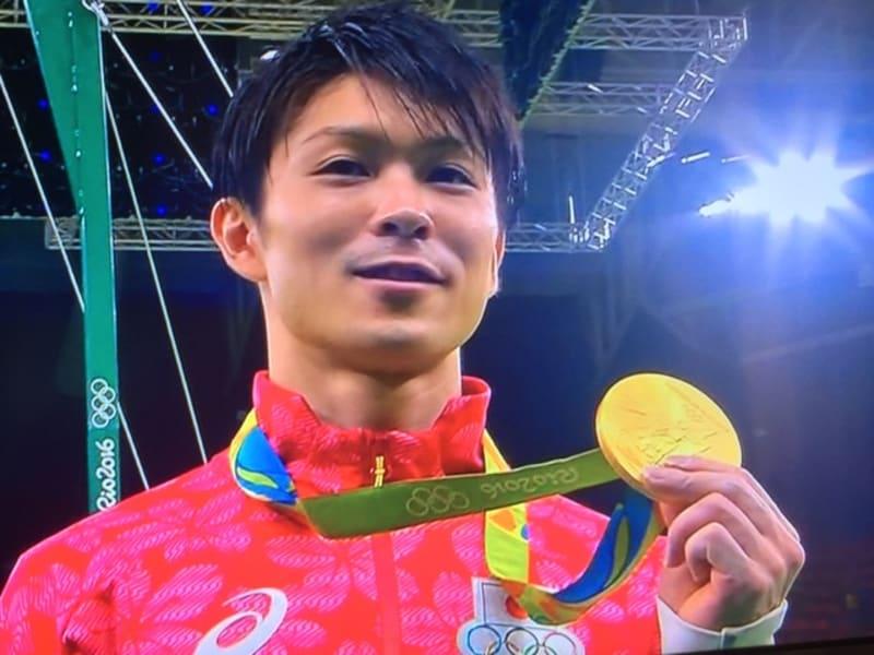 体操金&柔道金メダルおめでとう^^