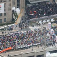東京マラソン2014に参加しました!