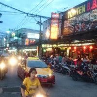 泰王国蘇梅島旅行⑨ 夜のサムイ島です。