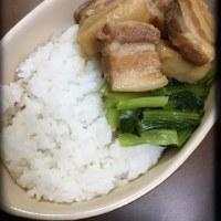 豚角煮丼♡