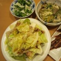 《キャベツ消費メニュー第2弾》キャベツと豚バラの蒸し焼き:平日ディナー【1/7】