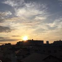 朝の朝日が最高です(^o^)(^o^)