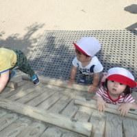 しろ 1歳児 身体測定・戸外遊び