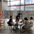 札幌中央郵便局で文月絵手紙展