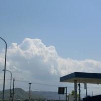 もう積乱雲ですか