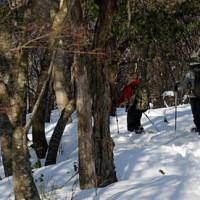 一人雪山遊び 蛇谷ヶ峰