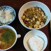 今日の夕食は、麻婆豆腐だよ♪