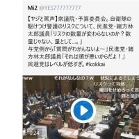【国会2/20 衆院予算委員会2/2】稲田「当時、判断したのは民主党」野次「民進党と民主党は関係ない!」(;゚Д゚)マジか!