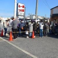 【4周年記念限定】濃厚ニボシつけ麺&大和肉鶏白湯ラーメン@麺屋 NOROMA