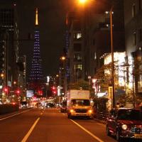 #東京タワー アクアブルー #ライトアップ