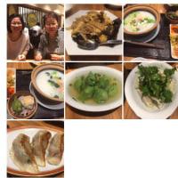 夕食。中華料理を食べに来ました。。いただきます。
