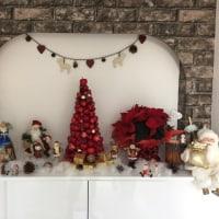 厚木市ヘアセット&エステBIENO~ビーノ~クリスマスディスプレイ
