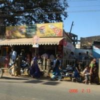 インドの町並み