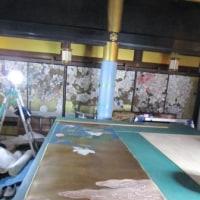 真宗大谷派 長嶋山 崇覚寺(そうがくじ) 本金彩色障壁画修復工事