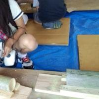 木工教室に行ってきました