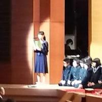 さすが9年生、連合音楽会で素晴らしい合唱❗