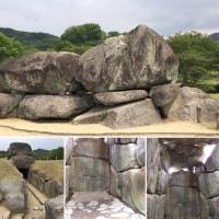 大阪のたこやきと奈良の石