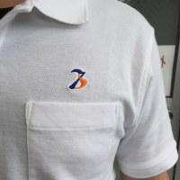 ポロシャツに施した刺繍