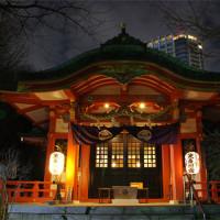 芝東照宮と東京タワー