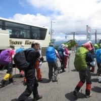 吹田市・春山登山教室で〈飯降山・荒島岳〉に登りました Ⅰ
