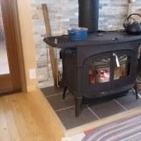 あこがれの暖炉
