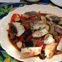 魚介と夏野菜の蒸し煮