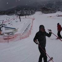 琴引スキー場にて