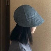 娘の帽子!縫いました!。
