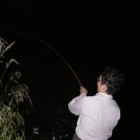 六月釣行 「中年と川」
