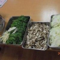 「歌謡ショー」&「食事会」