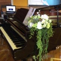 小学校卒業式でピアニストのお手伝いをさせて頂きました♪