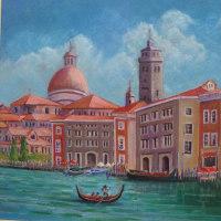 海外旅行で描いた油彩画(その17)