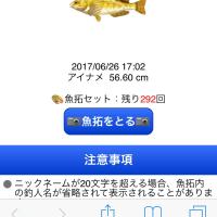 ラッキーフィッシュのアイナメ