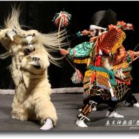 春木神楽団「悪狐退治」
