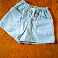ショートパンツを縫いました