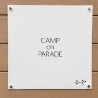 CAMP on PARADEさんへ引き取りに