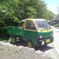 ツツジ祭りウォーク3(農業車)