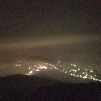 霧発生するも、濃霧で高く、海にならず