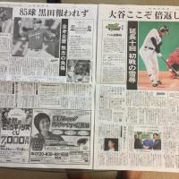 日本シリーズ  日ハム1勝