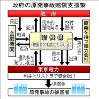 福島原発事故の賠償金を負担させるため、過去50年に積み立てるべきだった保険料を広く国民に後払いさせる案を、経産省の作業部会が検討!