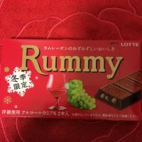 ラミー 洋酒チョコでラムレーズンと生チョコをコーティング 冬季限定 毎年心待ちRummy ロッテチョコレート 一口食べたら止まらない溺愛絶品チョコ