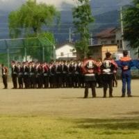 朝陽消防団の春の教養訓練と総会